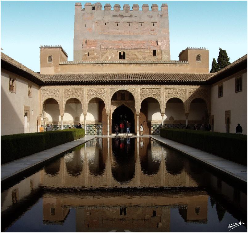 La alhambra - Banos arabes palacio de comares ...