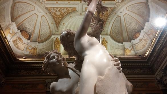 Apolo y Dafne, Bernini, Roma, Borghese, Elantiguomundo.com