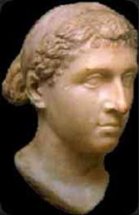 Cleopatra en Roma