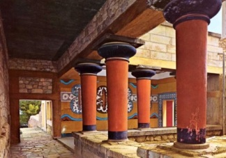 columnas minoicas